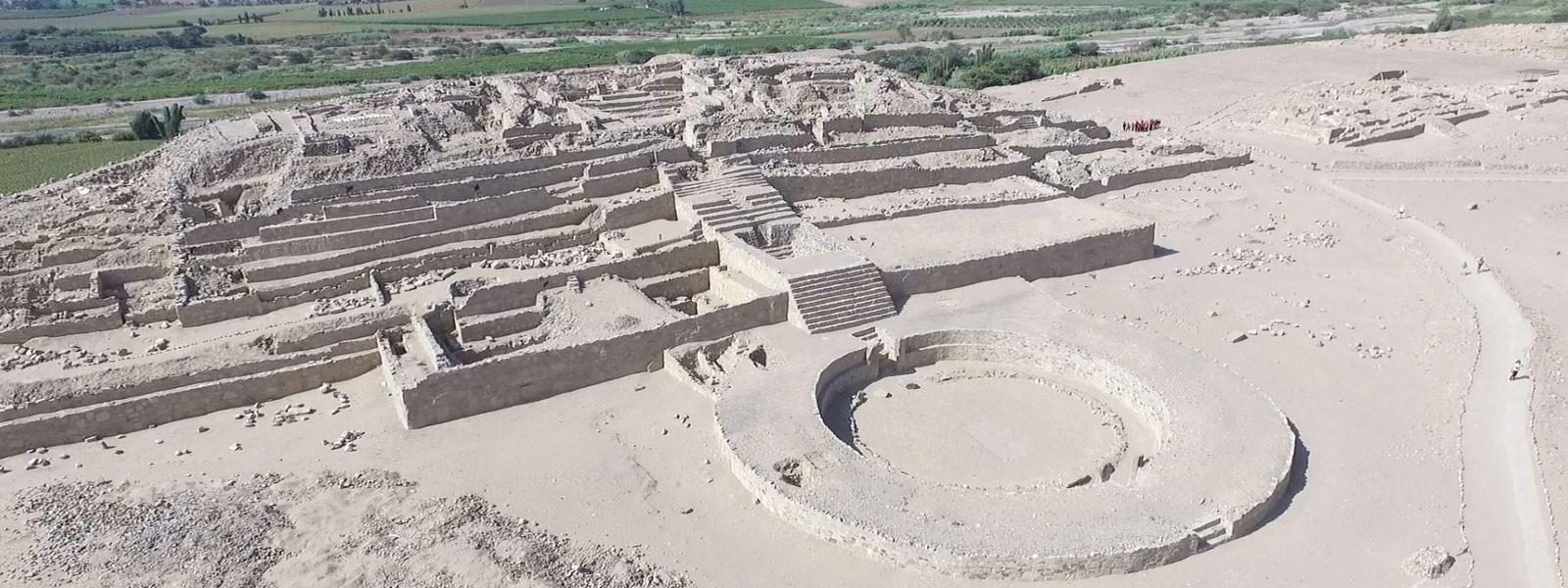 Caral, la ciudad más longeva de Latinoamérica (Perú)